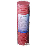 Воск для депиляции в таблетках Hot Wax, 500 г Красный