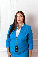 Жакет эрика (06) голубой, фото 1