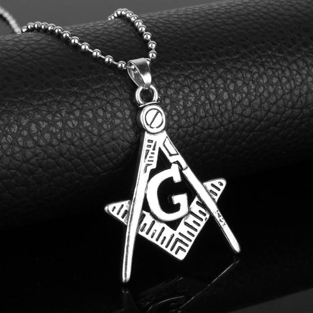 размеры кулона масонский символ