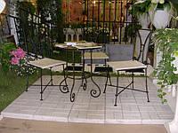 Кованые стулья и столы для ресторана и кафе 33