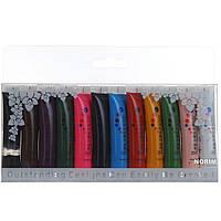 Набор декоративных акриловых красок для нейл арта Master Professional, 12 в 1