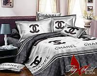 Постельное белье полуторное Шанель,магазин постельного
