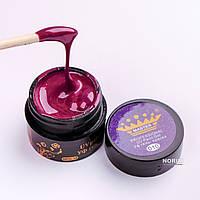 Гель краска Master Professional 5 ml №010 Темно-бордовый