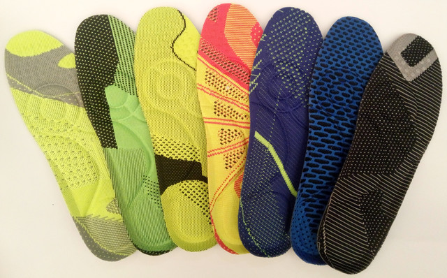 Стельки размерные, ортопедические, обрезные для обуви
