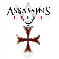 Кулон Крест Тамплиеров Кредо Ассасина Assassins Creed