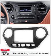 Переходная рамка CARAV 11-518 2 DIN (Hyundai i-10)