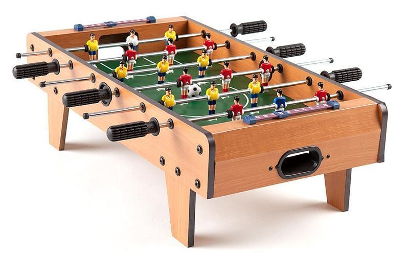 Настольный деревянный футбол на штангах 2035