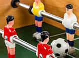 Настольный деревянный футбол на штангах 2035, фото 5