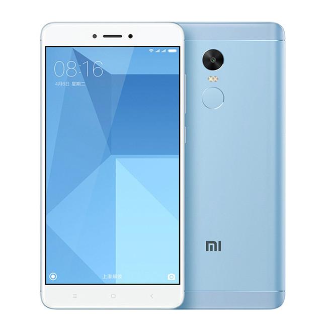 "Смартфон Xiaomi Redmi Note 4X Blue, 3/32Gb, 8 ядер, 13/5Мп, 5.5"" IPS, 2 SIM, 4G, 4100мАh"