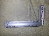 Уголок алюминиевый 30см