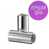 Фольга для мелирования, алюминиевая ширина 12см, 14 мкм, 50 метров в рулоне