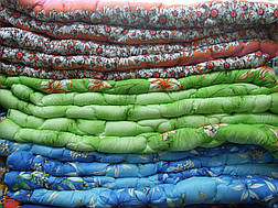 Одеяло силиконовое 160*200 поликотон (2909) TM KRISPOL Украина, фото 2