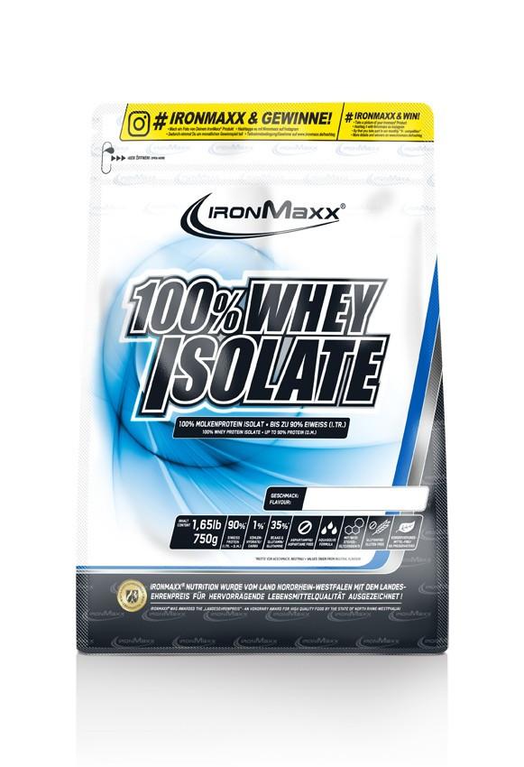 Протеины Изолят Ironmaxx 100 % Whey Isolate 750 г