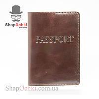Обложка для паспорта,кожа