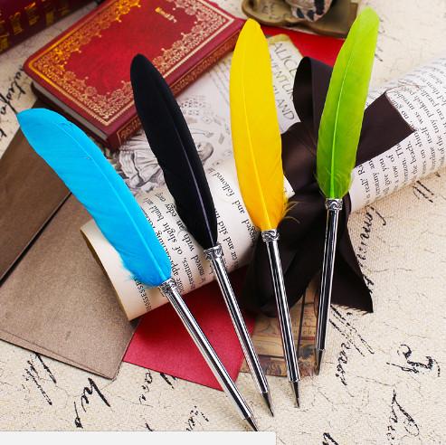 Ручка шариковая в винтажном стиле Перо