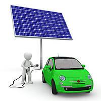 Промышленная солнечная электростанция для АЗС