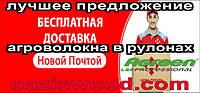 Бесплатная доставка агроволокна в рулонах AGREEN Агрин