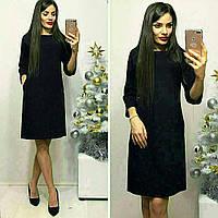 Платье модель 772 , черного цвета
