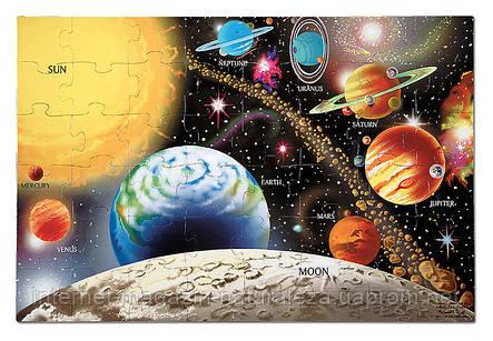 Напольный пазл Melissa&Doug Солнечная система 48 элементов, фото 2