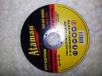 Круг по металлу отрезной 180-1.6-22 Атаман.