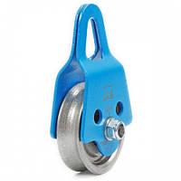 Блок-ролик Крок Промальп увеличенный одинарный сталь krk 02251
