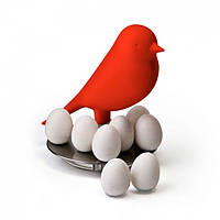 Набор магнитов Magnetic Egg Sparrow Qualy (красный), фото 1