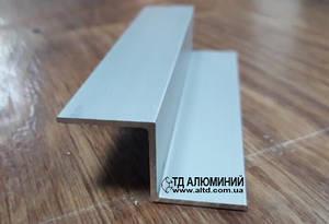 Z профиль 20х20х20х1,5 / анод серебро