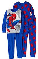 Комплект пижам Spider-Man для мальчика от 3 до 10 лет