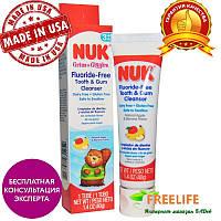 NUK, Средство для чистки зубов и десен без фтора, яблоко и банан, 1,4 унции (40 г)