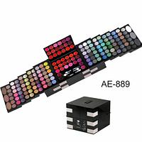 Профессиональная палитра для макияжа 148 цветов раздвижная Alex Horse