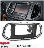 Переходная рамка CARAV 11-608 2 DIN (KIA KX3)