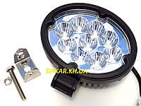Дополнительная светодиодная фара 16 27W S, фото 1