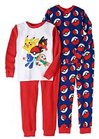 Комплект пижам Pokemon для мальчика от 5 до 10 лет
