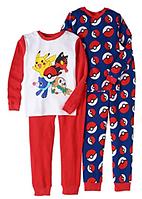 Комплект пижам Pokemon для мальчика от 5 до 12 лет