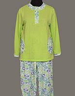 Теплая пижама с начесом женская зимняя хлопковая теплаякофта с брюками Украина