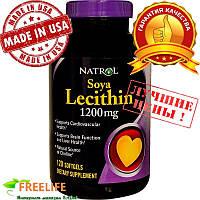 Natrol, Соевый лецитин, 1200 мг, 120 капсул