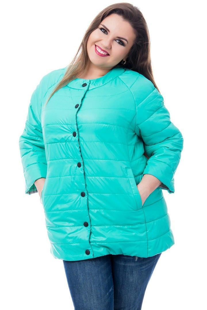 Куртка женская 203 бирюзовый