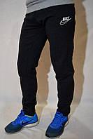 Спортивные штаны Nike зимние с начесом - темно-серые