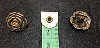 Пуговицы металлические на ножке П-30