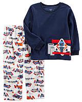 Теплая флисовая пижама с Машинкой Carter's для мальчика