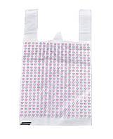 Пакеты полиэтиленовые с рисунком Сердца Сердце День Святого Валентина 27x7.5x50 см 12.5 микрон 50 шт/уп