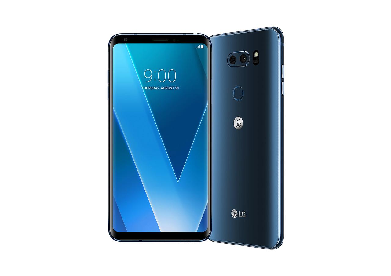 Смартфон LG V30 Plus 1sim 4/128gb Blue 3300 мАч Qualcomm Snapdragon 835
