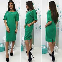 5d410d65f72 Повседневное деловое зеленое платье в Украине. Сравнить цены
