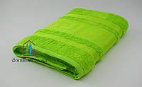 Полотенце махровое Зерон Бамбук 50х90 см ВZ салатовое