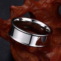 7MM Модное удобное удобное кольцо из титановой стали 6