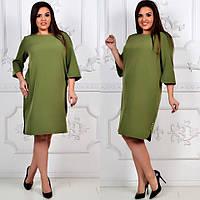 Платье модель 791 , хаки