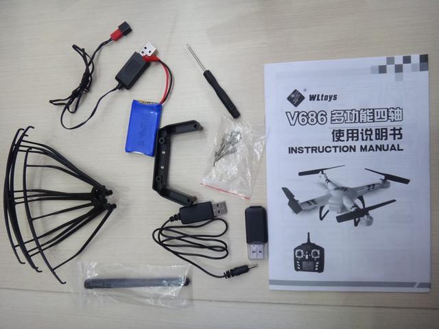 V686 WTtoys комплектация
