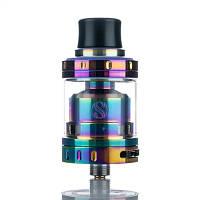 Обслуживаемый атомайзер Augvape Merlin Mini RTA электронная сигарета (оригинал) Радужный