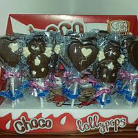Шоколадная фигурка на палочке Choco Lollypops