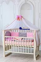 Детское постельное белье в кроватку для девочек